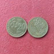 Koin Malaysia 20 Sen TP1kt
