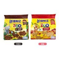 德國 百樂順 立袋 zoo 動物造型餅乾100g(巧克力/奶油)