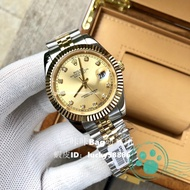 [Physical shooting] Rolex Rolex watches New boys' watches Rolex Journal series gold dial Rolex watches Men and women the