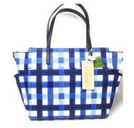 Kate Spade New York Blake Avenue Kaylie Baby Bag Diaper Bag (Printed Blue)