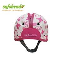 【SafeheadBABY】英國 學步防撞安全帽 (粉愛蝴蝶)