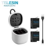 TELESIN Hero5/6/7 Allinbox 電池 充電盒 雙電版 雙電池 充電座 充電【GP011】