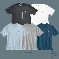 【特價商品】CARHARTT WORK WEAR K87 口袋 小LOGO 短袖 黑/灰/白【Insane-21】