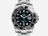 ROLEX錶 勞力士 116710 GMTII 雙時區 極簡黑 附盒證 商品編號:T537