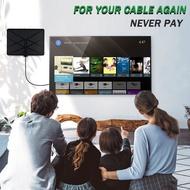 帶4K HD1080P DVB-T Freeview電視的PUR最新電視天線室內放大數字HDTV天線