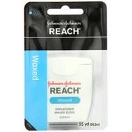 (2入) J & J REACH含蠟牙線【無味】50.2m