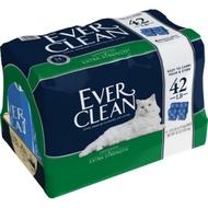 美國EVERCLEAN 》新包低過敏結塊貓砂(藍標)-42lb