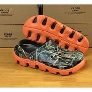 熱賣新品卡洛馳crocs動力迷彩洞洞鞋男涼鞋