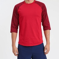 NIKE Air Jordan 紅色 男 喬丹 籃球 運動 圓領 透氣 七分袖 834537-687