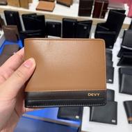 แฟชั่น กระเป๋าสตางค์หนัง Devy 100- หนังนิ่มสวย ของแท้💯💯จากช็อป มีกล่องแบรนด์ให้ค่ะ