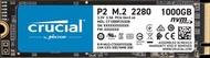 CRUCIAL - P2 1TB PCIe M.2 2280SS SSD