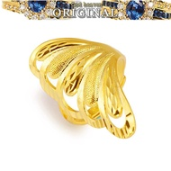 916 Gold Hot Sale Jewelry gold personalized pattern fashion lucky ring female ring