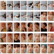 40PCS/Set KPOP Seventeen Fallin Flower Album Collection Love Letter HD Photo Card PVC Cards Self Made LOMO Card Photocard
