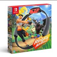健身環大冒險 全新 日版原廠 任天堂 中文版 Switch 不含遊戲片❤️兩隻臘腸