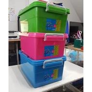 #含稅開發票#『KEYWAY KV20亮彩整理箱』可刷卡 聯府 收納箱 玩具箱 衣櫃 抽屜櫃 附輪18L