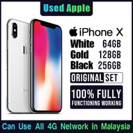 【 Apple 100% Original 】 99.99% As New 1 Used iPhone X / XS / XS MAX 5.8 Inch 4G Mobile Phone 64GB 128GB 256GB Smartphone
