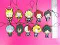10 Pcs/set Anime Boku no hero academia PVC phone strap Keychain pendant toy My Hero Academia pendant toys gifts