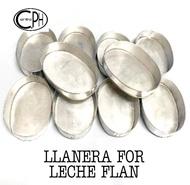 10 pcs. Llanera for Leche Flan