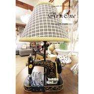 AB05264復古裁縫機造型檯燈