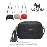韓國【法國AGATHA】流蘇小方包