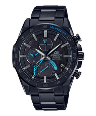 CASIO EDIFICE EQB-1000XDC-1A 黑跑車太陽能藍牙智慧腕錶