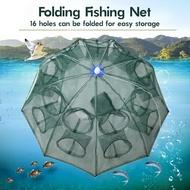 16 Hole Crab Trap Cast Net Trap Shrimp Trap