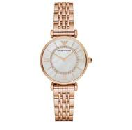 Emporio Armani_ Rose Gold Classic Quartz Women's Watch. AR1909
