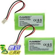 [9美國直購] 鎳氫電池 2X 2X Pack - BT-175242 Battery Replacement for VTech BT175242,  and Sony NTM-910,  BP-T50