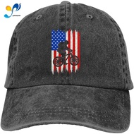 American  Cycling Usa Unisex Soft Casquette Cap Fashion Hat Vintage Adjustable Baseball Caps