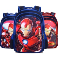 GSteel Chivalrous A Bag Pupil Cartoon Both Shoulders Backpack 1- 6 Years Level Male Children 3d A Bag