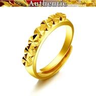 916 Gold Stars Ring