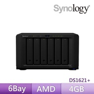 【Synology 群暉科技】DS1621+ 6Bay 網路儲存伺服器