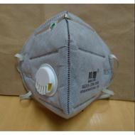 [三月買十送一][現貨]防霧霾/帶呼吸閥,多層防護口罩,防塵,活性碳,阻隔 PM2.5 口罩 類似 95