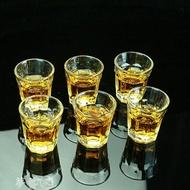 玻璃酒壺 玻璃 子彈杯  白酒杯 酒杯套裝 家用 小酒杯  一口杯 小酒盅 酒壺 夢藝家