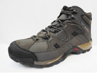 [陽光樂活=]SALOMON HILLPASS MID GTX 男款 中筒登山鞋 L38139000 咖啡棕