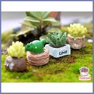 [ ลดราคาพิเศษ30% ของมีจำนวนจำกัด ] ไม้อวบน้ำ เซ็ท 4 ชิ้น ตุ๊กตาจิ๋ว โมเดลจิ๋ว แต่งสวน [ โปรโมชั่นสุดคุ้ม ลดราคากระหน่ำ ]
