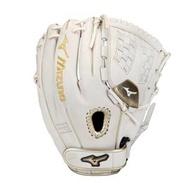 「野球魂」--美國「MIZUNO」【MVP PRIME SE】等級壘球手套(投手&內野手,312824,白色)附手套袋
