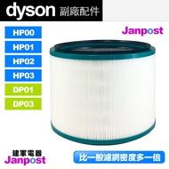 [97折]Dyson 戴森 超高密度 副廠濾網 HP00 HP01 HP02 HP03 DP01/03 空氣清淨機 濾芯 濾網 建軍電器