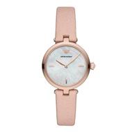 Emporio Armani AR11199 Analog Quartz Rose Gold Leather Women Watch [Pre-Order]