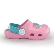 FILA 拖鞋 涼拖鞋 防水拖 電燈鞋 園丁鞋 童鞋 粉藍綠【7S451V233】
