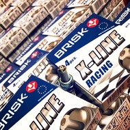 BRISK火星塞 4角銀芯X-LINE 競技🔥  NK 渦輪通用
