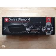 全聯~瑞士原裝Swiss Diamond XD瑞士鑽石鍋。鑽石玉子燒鍋