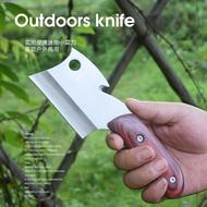 家用小菜刀迷你便攜戶外求生切菜刀切片刀鋒利砍骨刀高硬度小刀