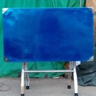 【曲豆居家生活館】2*3正白鐵 不鏽鋼 桌(304) 腳(201) 拜拜桌  折合桌