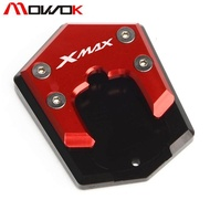 XMAX125/250 xmax300 foot support bracket large seat side support pad modification parts ——(red)