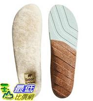 [美國直購] Honey Soles 羊毛暖暖鞋墊 (SIZE D, Men's 7.5 - 9 USA) Bear Natural Sheepskin Insoles