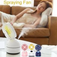 Portable USB Spray Mini Fan Bedroom Desk Air Humidifier Mini Summer Cooling Fan