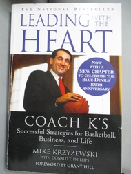 【書寶二手書T5/傳記_XBG】Leading With the Heart: Coach K's Successful