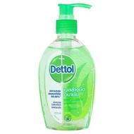 เดทตอล รีเฟรช เจลล้างมืออนามัย สูตรหอมสดชื่น ผสมอโลเวร่า 200มล./Dettol Refreshing Hand Wash Gel Fresh aloe vera formula 200 ml.