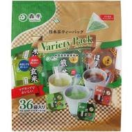 日貨 茶包 玄米茶 綠茶 焙茶 三角茶包 36入 冷泡茶 熱泡茶 森半 茶 日本茶 正版 J00030632